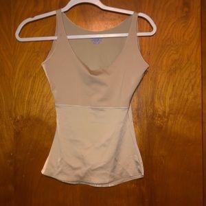 Spanx Nude shapewear tank top small s